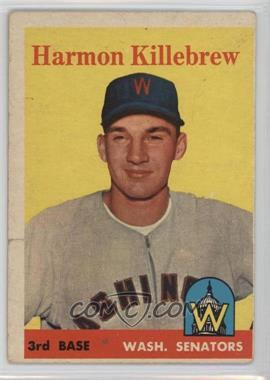 1958 Topps - [Base] #288 - Harmon Killebrew [Poor]