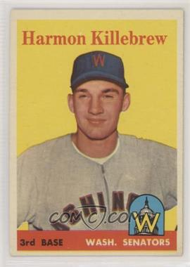 1958 Topps - [Base] #288 - Harmon Killebrew [GoodtoVG‑EX]
