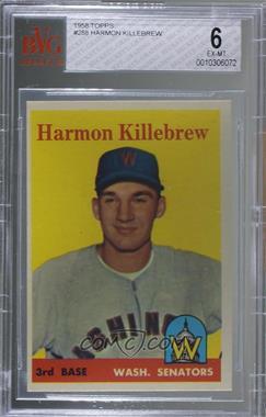1958 Topps - [Base] #288 - Harmon Killebrew [BVG6EX‑MT]
