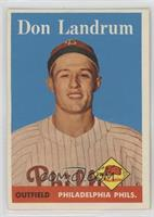 Don Landrum [Poor to Fair]