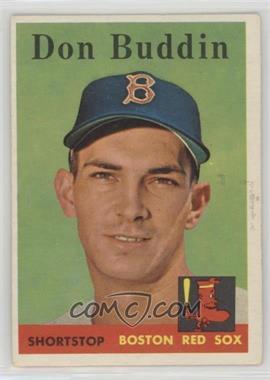 1958 Topps - [Base] #297 - Don Buddin [PoortoFair]