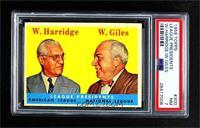 League Presidents (William Harridge, Warren Giles) [PSA7NM]