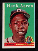 Hank Aaron (player name in white)