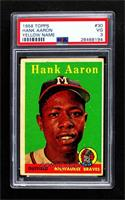 Hank Aaron (player name in yellow) [PSA 3 VG]