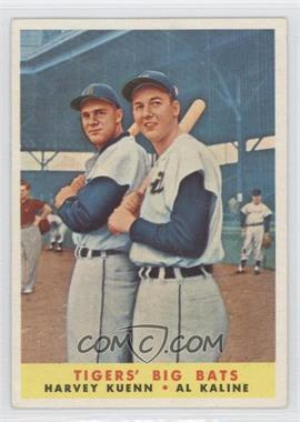 1958 Topps - [Base] #304 - Tigers' Big Bats (Harvey Kuenn, Al Kaline)