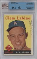 Clem Labine [JSA Certified Encased by BVG]