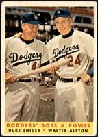 Dodgers' Boss & Power (Duke Snider, Walter Alston) [GOOD]