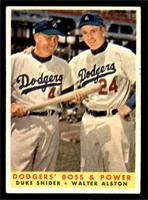 Dodgers' Boss & Power (Duke Snider, Walter Alston) [EX]