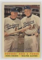 Dodgers' Boss & Power (Duke Snider, Walter Alston)