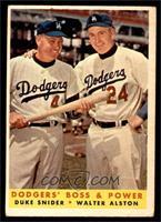 Dodgers' Boss & Power (Duke Snider, Walter Alston) [VGEX]