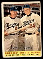 Dodgers' Boss & Power (Duke Snider, Walter Alston) [VG]