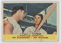 Sluggers Supreme (Ted Kluszewski, Ted Williams) [Poor to Fair]