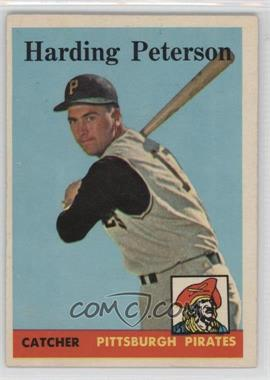 1958 Topps - [Base] #322 - Hardy Peterson