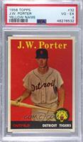 J.W. Porter (yellow name) [PSA4VG‑EX]