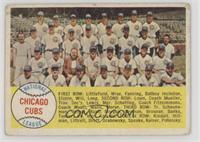 Chicago Cubs Team [Poor]