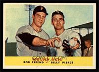 Bob Friend, Billy Pierce [NM]