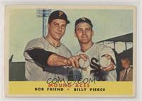 Bob Friend, Billy Pierce [GoodtoVG‑EX]
