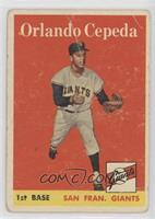Orlando Cepeda [Poor to Fair]