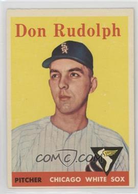 1958 Topps - [Base] #347 - Don Rudolph [PoortoFair]