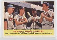 Braves' Fence Busters (Del Crandall, Eddie Mathews, Hank Aaron, Joe Adcock)