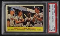 Braves' Fence Busters (Del Crandall, Eddie Mathews, Hank Aaron, Joe Adcock) [PS…