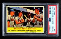 Braves' Fence Busters (Del Crandall, Eddie Mathews, Hank Aaron, Joe Adcock) [PS…