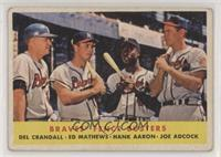 Braves' Fence Busters (Del Crandall, Eddie Mathews, Hank Aaron, Joe Adcock) [Go…