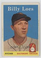 Billy Loes [Poor to Fair]