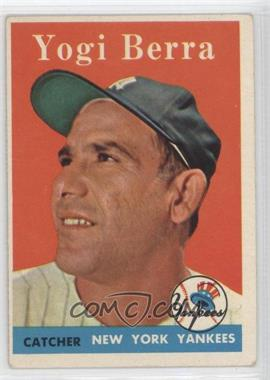 1958 Topps - [Base] #370 - Yogi Berra [Good to VG‑EX]