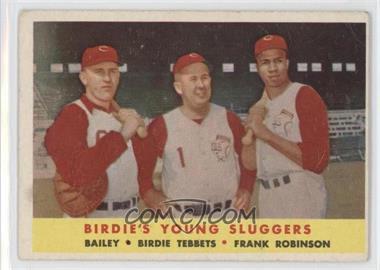 1958 Topps - [Base] #386 - Ed Bailey, Birdie Tebbetts, Frank Robinson [NoneGoodtoVG‑EX]