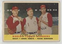 Ed Bailey, Birdie Tebbetts, Frank Robinson [NonePoortoFair]