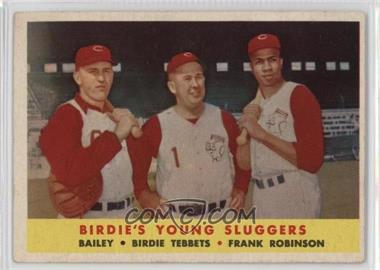1958 Topps - [Base] #386 - Ed Bailey, Birdie Tebbetts, Frank Robinson