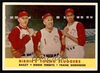 Ed Bailey, Birdie Tebbetts, Frank Robinson [VG]