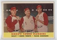 Ed Bailey, Birdie Tebbetts, Frank Robinson [NoneGoodtoVG̴…
