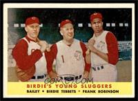 Ed Bailey, Birdie Tebbetts, Frank Robinson [EXMT]