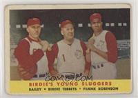 Ed Bailey, Birdie Tebbetts, Frank Robinson [Poor]