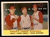 Ed Bailey, Birdie Tebbetts, Frank Robinson [VGEX]
