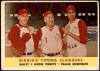 Ed Bailey, Birdie Tebbetts, Frank Robinson [FAIR]