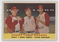 Ed Bailey, Birdie Tebbetts, Frank Robinson