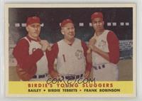 Ed Bailey, Birdie Tebbetts, Frank Robinson [PoortoFair]