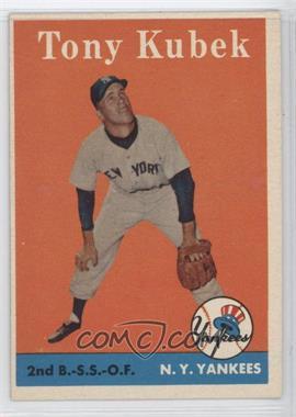 1958 Topps - [Base] #393 - Tony Kubek