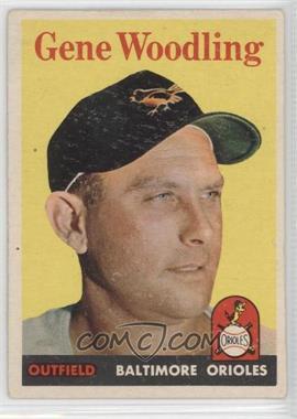 1958 Topps - [Base] #398 - Gene Woodling