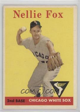 1958 Topps - [Base] #400 - Nellie Fox [GoodtoVG‑EX]