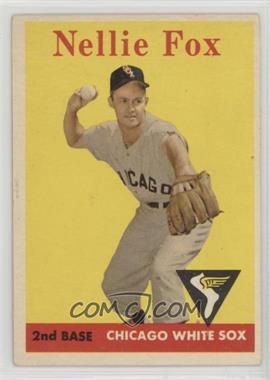 1958 Topps - [Base] #400 - Nellie Fox