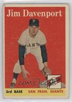 Jim Davenport [Good to VG‑EX]
