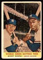 World Series Batting Foes (Mickey Mantle, Hank Aaron) [FAIR]
