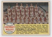 Cincinnati Reds Team (Sixth Series Numerical) [Good to VG‑EX]