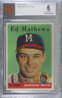 Eddie Mathews [BVG6EX‑MT]