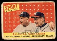All-Star Managers (Casey Stengel, Fred Haney) [POOR]