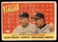 All-Star Managers (Casey Stengel, Fred Haney) [FAIR]